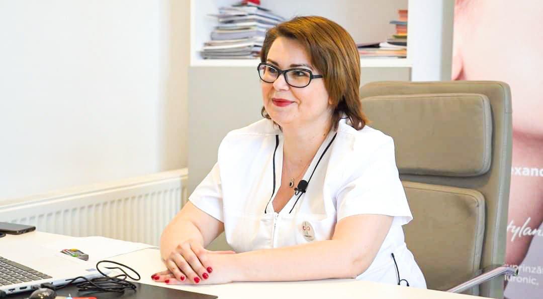 dr. Desdemona Stepan, medic primar pediatru, specialist gastroenterologie pediatrică.